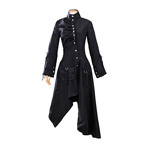 BFJ Harry Potter Cosplay Phoenix Nymphadora Tonks Black Coat Jacket Costume