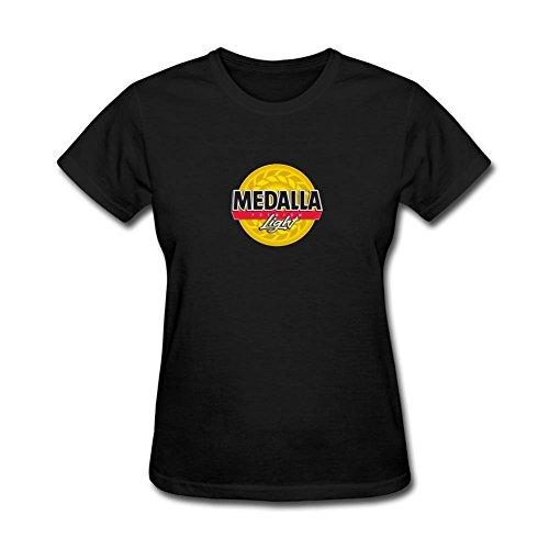 xiuluan-womens-medalla-light-logo-t-shirt-size-xl-colorname-short-sleeve