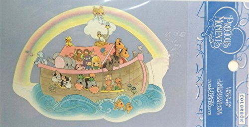 Colorbok Precious Moments Iron On Transfer - Noah'S Ark. front-779691