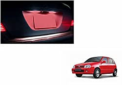 Speedwav Car LED Number/Licence Plate Red Lights Set Of 2-Maruti Zen Old