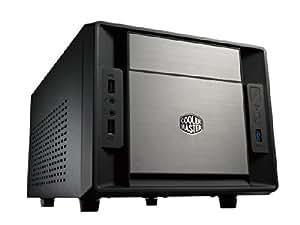 Cooler Master RC-120A-KKN1 Boîtier PC en aluminium Mini ITX Sans alimentation Noir