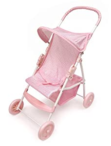 Badger Basket Folding Doll Stroller