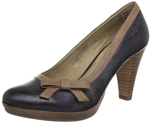 Bugatti W66617 Pumps Women's brown Braun (braun/beige 604) Size: 5 (38 EU)