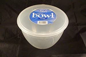 Whitefurze 2.0 litre Pudding bowl, microwave safe  - cooking