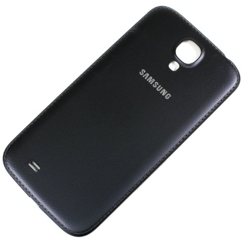 RBC Faux Leather Battery Back Door Cover Replacement For Samsung Galaxy S4 i9500 i9505 i337 i545 M919 Black (Samsung S4 Back Cover Replacement compare prices)