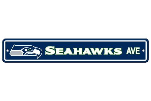 NFL Seattle Seahawks Plastic Street Sign at Amazon.com