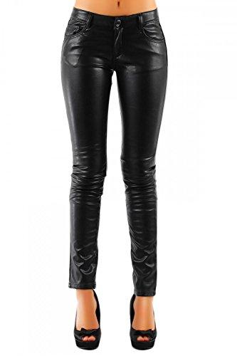 Danaest -  Pantaloni  - skinny - Donna nero 42