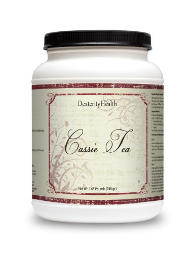 Cassie Tea By Dexterity Health, (Compare To Essiac Tea) Bulk Dry Cassie Tea Mix, 1.65 Lbs