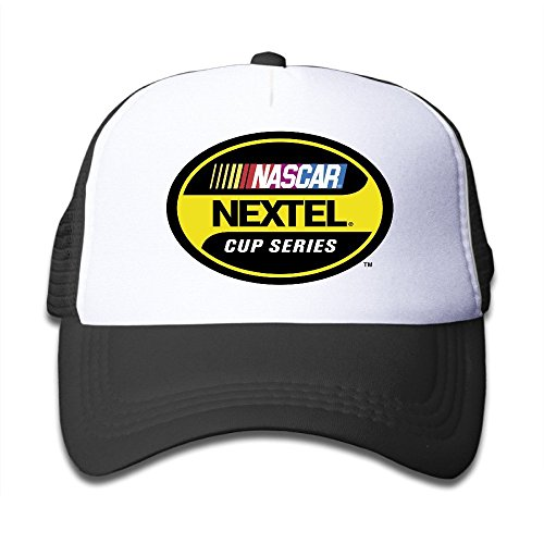 youth-children-mens-women-custom-summer-nascar-nextel-cup-series-unisex-half-mesh-adjustable-basebal