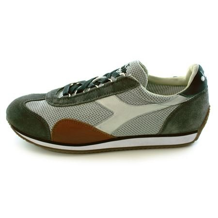 EQUIPE TRAFORATA5799 Diadora Heritage scarpa sneaker da uomo multicolor Grigio 45