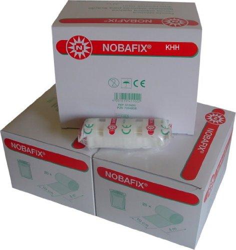 Nobafix, elastische Fxierbinde, 60 Stück einzeln in Folie von Noba Gr.10 cm x 4 m