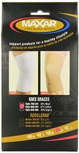 Maxar Cotton/Elastic Knee Brace (67% cotton)