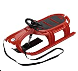 KHW Plastic Toboggan de Luxe Snow Tiger Red assorted colours Size:105x56,5x31 cm