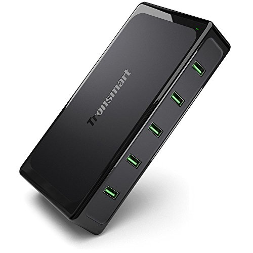Tronsmart Titan 5-Port USB Wall Charger Quick Charge 2.0 with 10 Amp Total Output Black For iPhone iPad, Samsung Galaxy, HTC Nexus Moto Blackberry (Car Battery Titan compare prices)