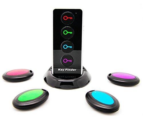 Toloyo  キーファインダー 忘れ物防止 発見器 探し物探知機「助かった、忘れ物防止、発見器、来るよ」鍵/リモコン/携帯/財布等探せー LEDライト付属
