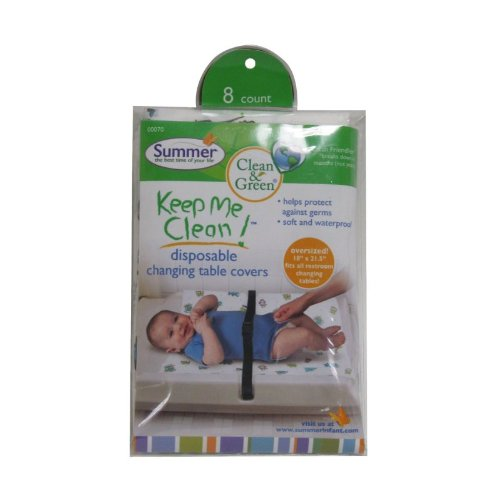 Summer Infant Keep me Clean Disposable Changing Pad Cover