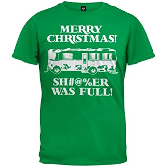 Christmas Vacation - Shitter Was Full T-Shirt - Small