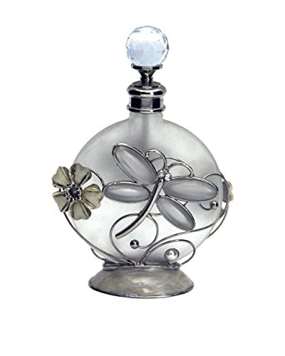 Dragonfly Perfume Bottle, White