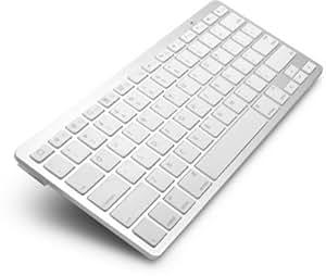 Reconntech Ultrathin Bluetooth Keyboard For Ipad Air,Ipad Mini, Ipad 2/ 3/ 4/, Iphone 4/ 4S/ 5 / 5S, Google Nexus,Samsung Galaxy Tab, Samsung Galaxy Note And Other Tablets