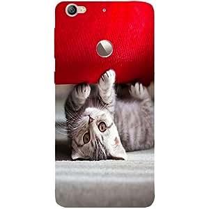 Casotec Cute Cat Nature Design Hard Back Case Cover for LeTV Le 1s