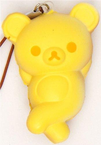 Imagen 1 de Colgante móvil blandito oso Rilakkuma panecillo amarillo