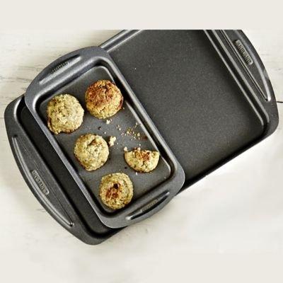 Lakeland Lot de 2plaques de cuisson pour des portions individuelles (11x 20,5cm et 30x 30x 19cm)