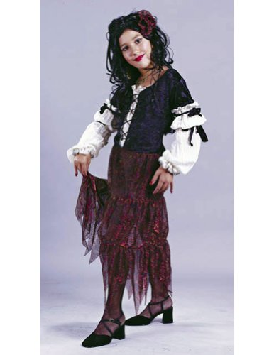 Kids-Costume Gypsy Rose Child Sm Halloween Costume - Child Small