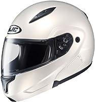 HJC Helmets CL-MAX 2 Helmet (Pearl White, Large) by HJC Helmets