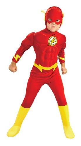 Child Deluxe Muscle Chest Flash Costume, Toddler (Size 2-4) (Ages 1-2)