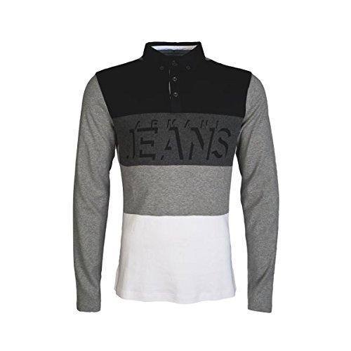 Armani Jeans -  Polo  - Polo  - Maniche lunghe  - Uomo Grey XX-Large