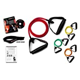 Ripcords Resistance Exercise Bands Set with Circuit Training DVD (4 Pack)by Ripcords