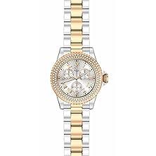 buy Invicta Women'S 17358 Angel Quartz 3 Hand Rose Gold Dial Watch