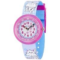 [フリック フラック]FLIK FLAK キッズ腕時計 CUTE-SIZE(キュート サイズ) MIAU MIAU(ミャオ・ミャオ) ZFBNP012 ガールズ 【正規輸入品】