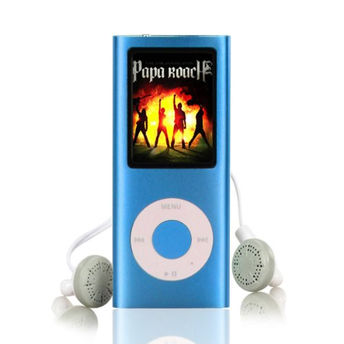 Ravo MP3 MP4 Slim Player with LCD Screen Video Mov