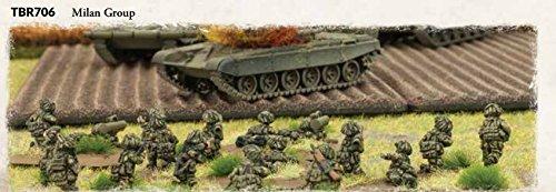 Team Yankee British Milan Group (Flames Of War British Rifle compare prices)