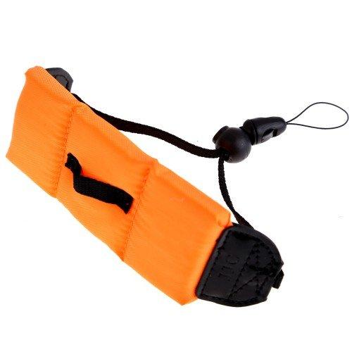 Best Plus Floating Pe Foam Wrist Arm Strap For Waterproof Digital Camera Dslr Orange
