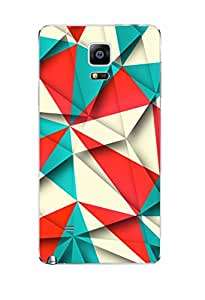BlueAdda Back Cover for Samsung Galaxy Note 4
