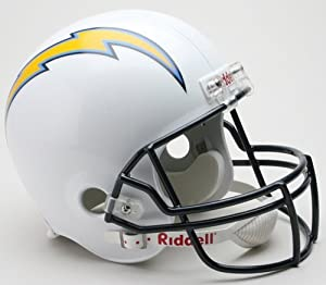 San Diego Chargers Riddell Full Size Deluxe Replica Football Helmet