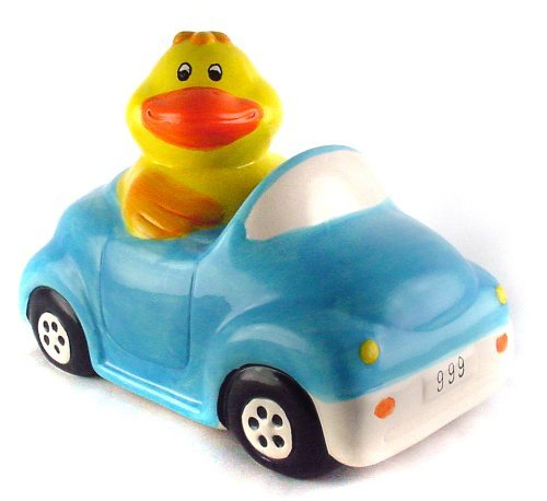 Duck in Car - Animal Piggy Bank - 1