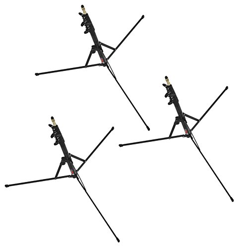 nomis-compact-travel-light-stand-ls-1-set-of-3-with-a-height-of-221m-foldable