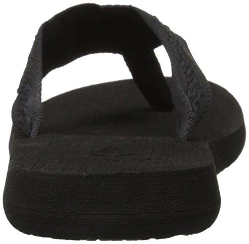 Reef Women's Sandy Flip Flop,Black/Black,9 M