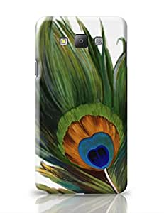 PosterGuy Samsung Galaxy A7 Case Cover - Peacock Feather | Designed by: All that Jazz
