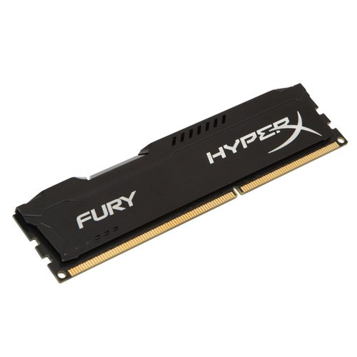 Kingston HyperX FURY 4GB 1600MHz DDR3 CL10 DIMM - Black (HX316C10FB/4)