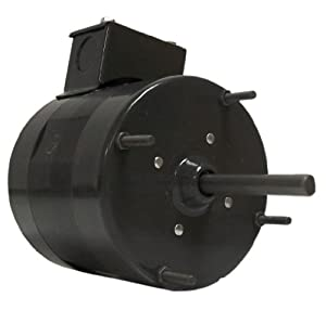 Fasco D114 4.4-Inch Fan Coil Air-Conditioning Motor, 1/12 HP, 115-230 Volts, 1550 RPM, 1 Speed, 2.5 Amps, Totally Enclosed, CWSE Rotation, Sleeve Bearing