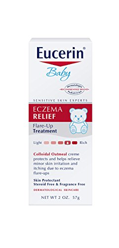 Eucerin Baby Eczema Relief Flare-Up Treatment, 2 Ounce