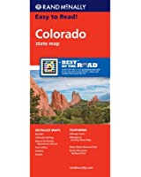 Easy to Read Colorado State Map