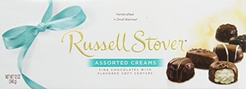 Russell Stover Assorted Creams Chocolate, 12-Ounce Boxes (Pack of 3) (Russell Stover Assorted Creams compare prices)