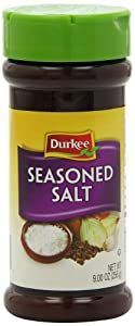 Durkee Salt, Seasoned, 8-Ounce (Pack of 6)