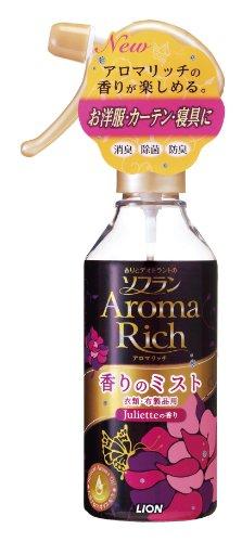 香りとデオドラントのソフラン アロマリッチ香りのミスト ジュリエットの香り 本体 200ml