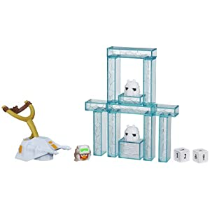 Star Wars Angry Birds Jenga Battle Game - Hoth [UK Import]